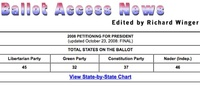 Assets of America: Ballot Access News (BAN)
